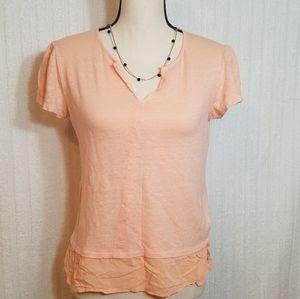 Sanctuary shirt. Size S. Peach color.